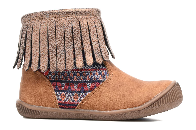 Boots en enkellaarsjes NA! Aria Bruin achterkant