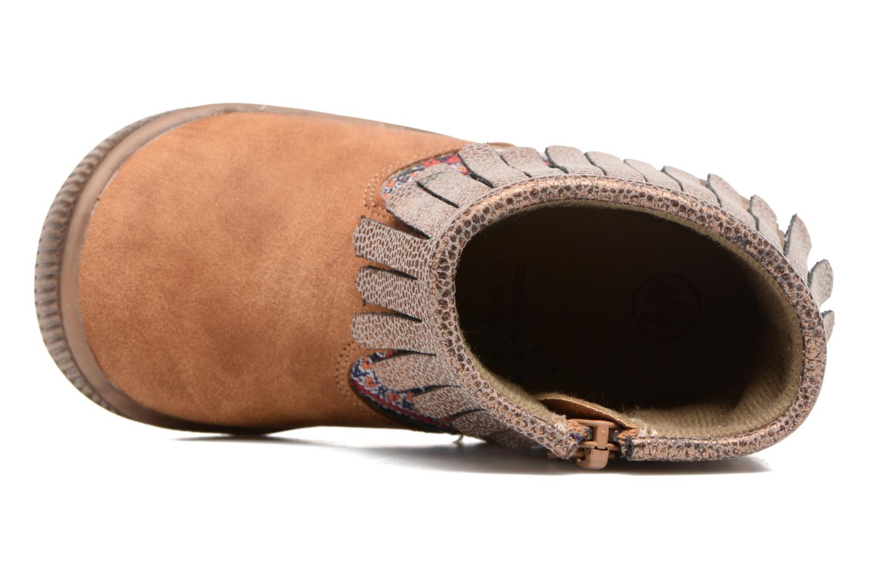 Boots en enkellaarsjes NA! Aria Bruin links