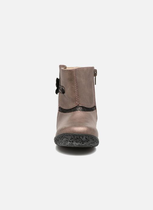 Bottines et boots NA! Anatoli Or et bronze vue portées chaussures