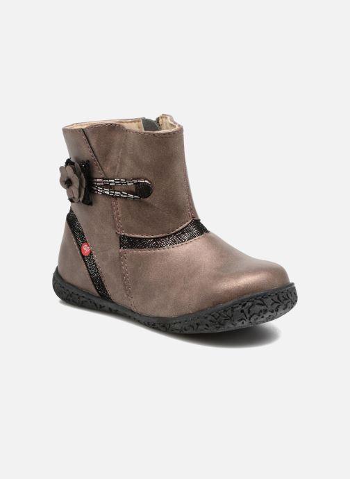 Bottines et boots NA! Anatoli Or et bronze vue détail/paire