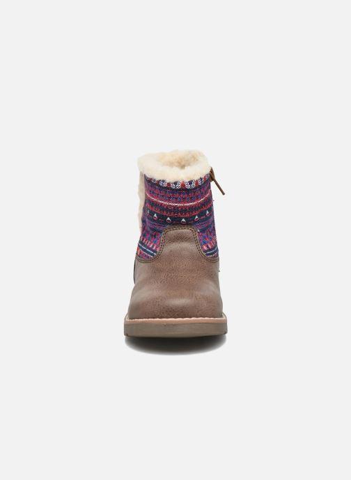 Bottines et boots NA! Aborny Marron vue portées chaussures