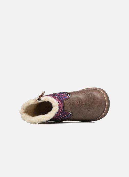 Bottines et boots NA! Aborny Marron vue gauche