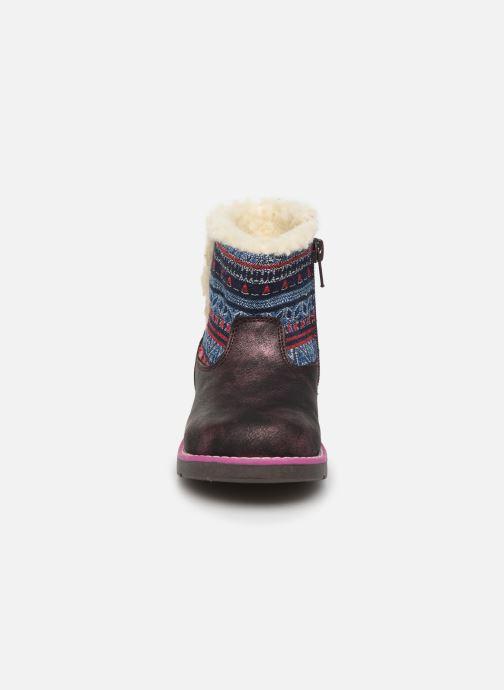 Boots en enkellaarsjes NA! Aborny Paars model