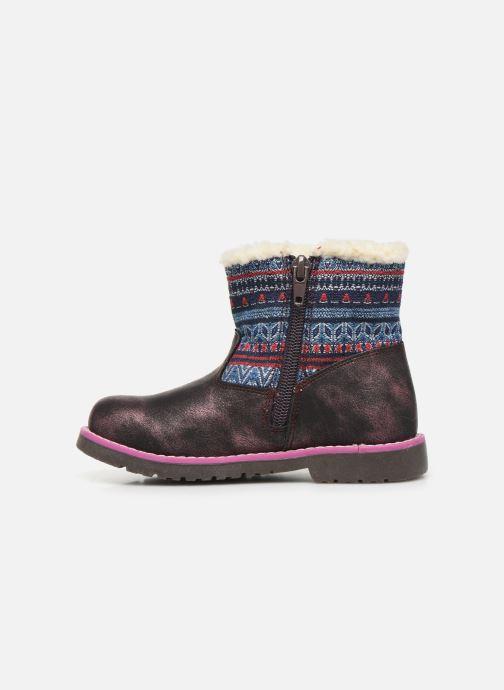 Boots en enkellaarsjes NA! Aborny Paars voorkant