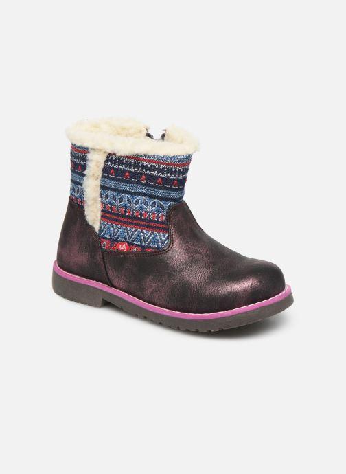 Boots en enkellaarsjes NA! Aborny Paars detail