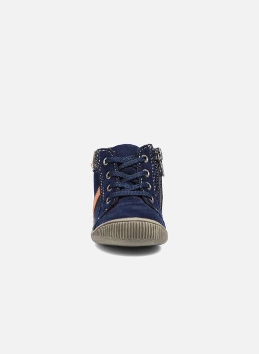 Bottines et boots NA! Arkady Bleu vue portées chaussures