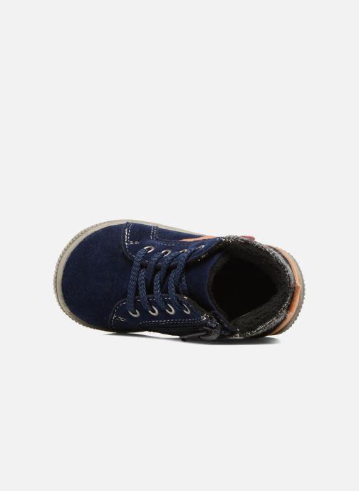 Bottines et boots NA! Arkady Bleu vue gauche