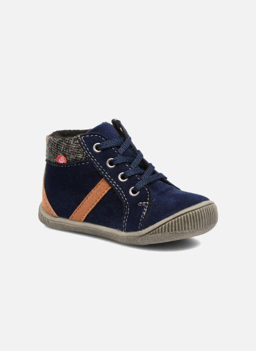 Bottines et boots NA! Arkady Bleu vue détail/paire