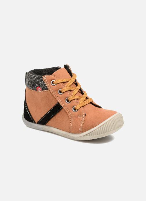 Boots en enkellaarsjes NA! Arkady Bruin detail