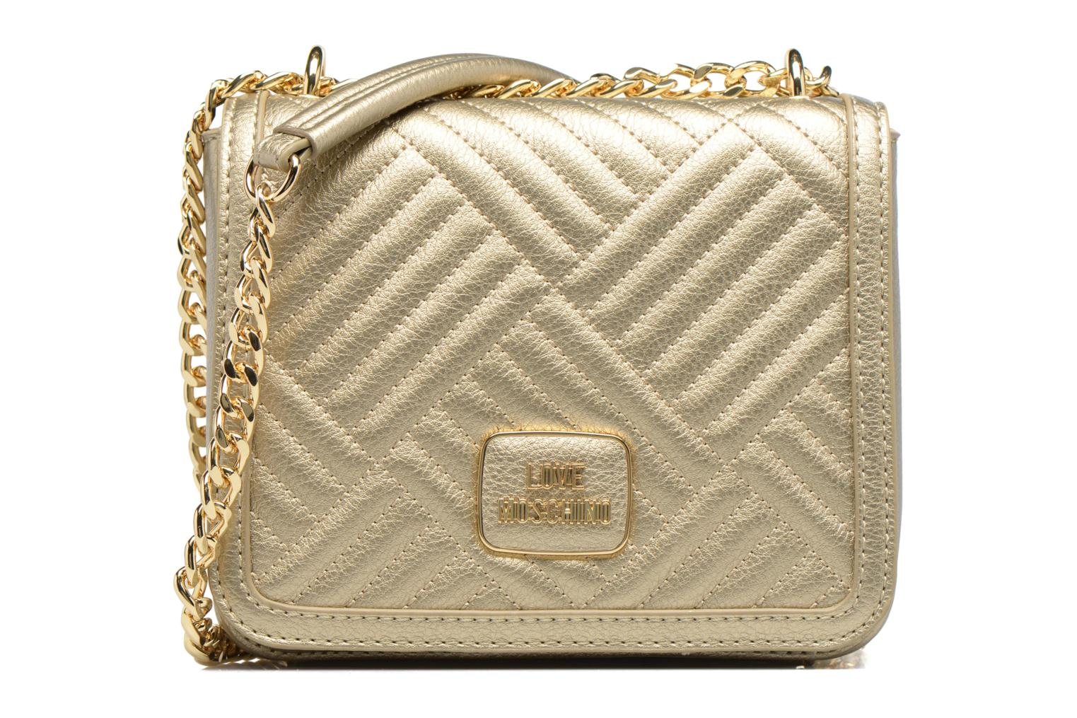 Quilted Moschino Love Shiny Oro Chaine Crossbody qSxw4HY