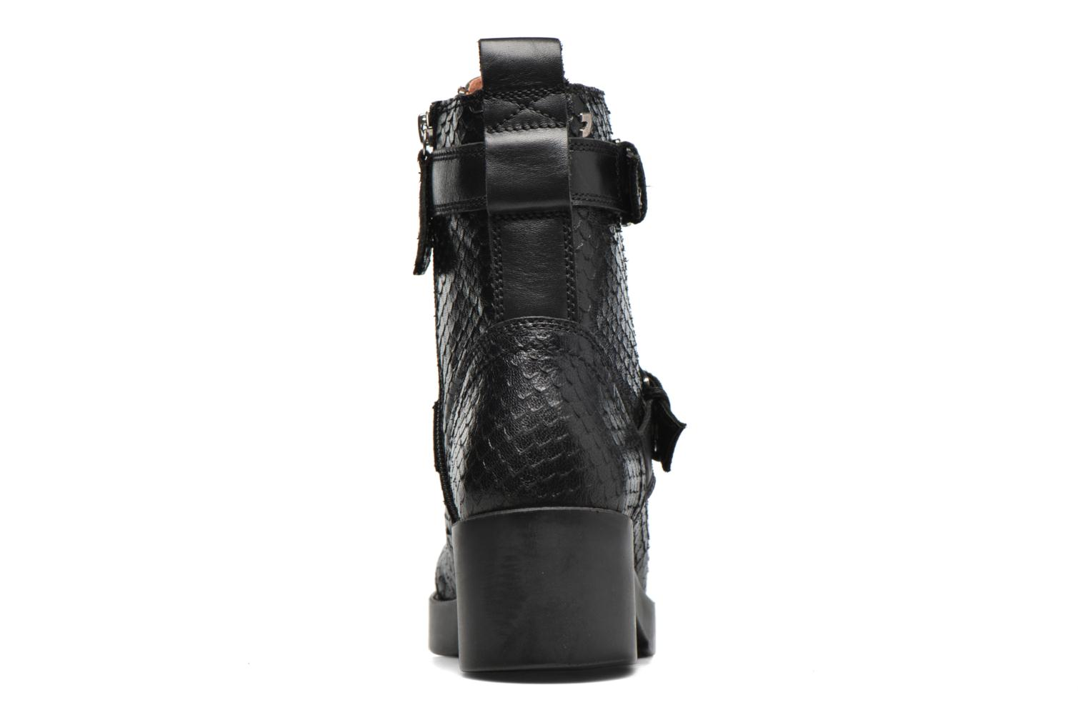 Ankle boots Gioseppo DOUBLON Black view from the right