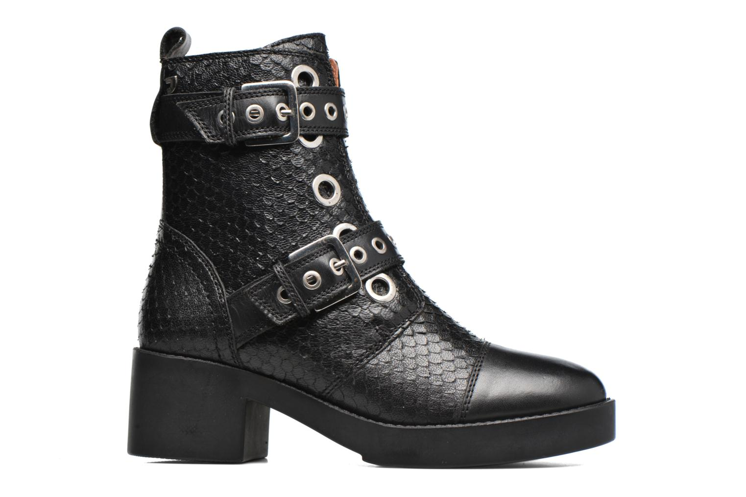 Ankle boots Gioseppo DOUBLON Black back view