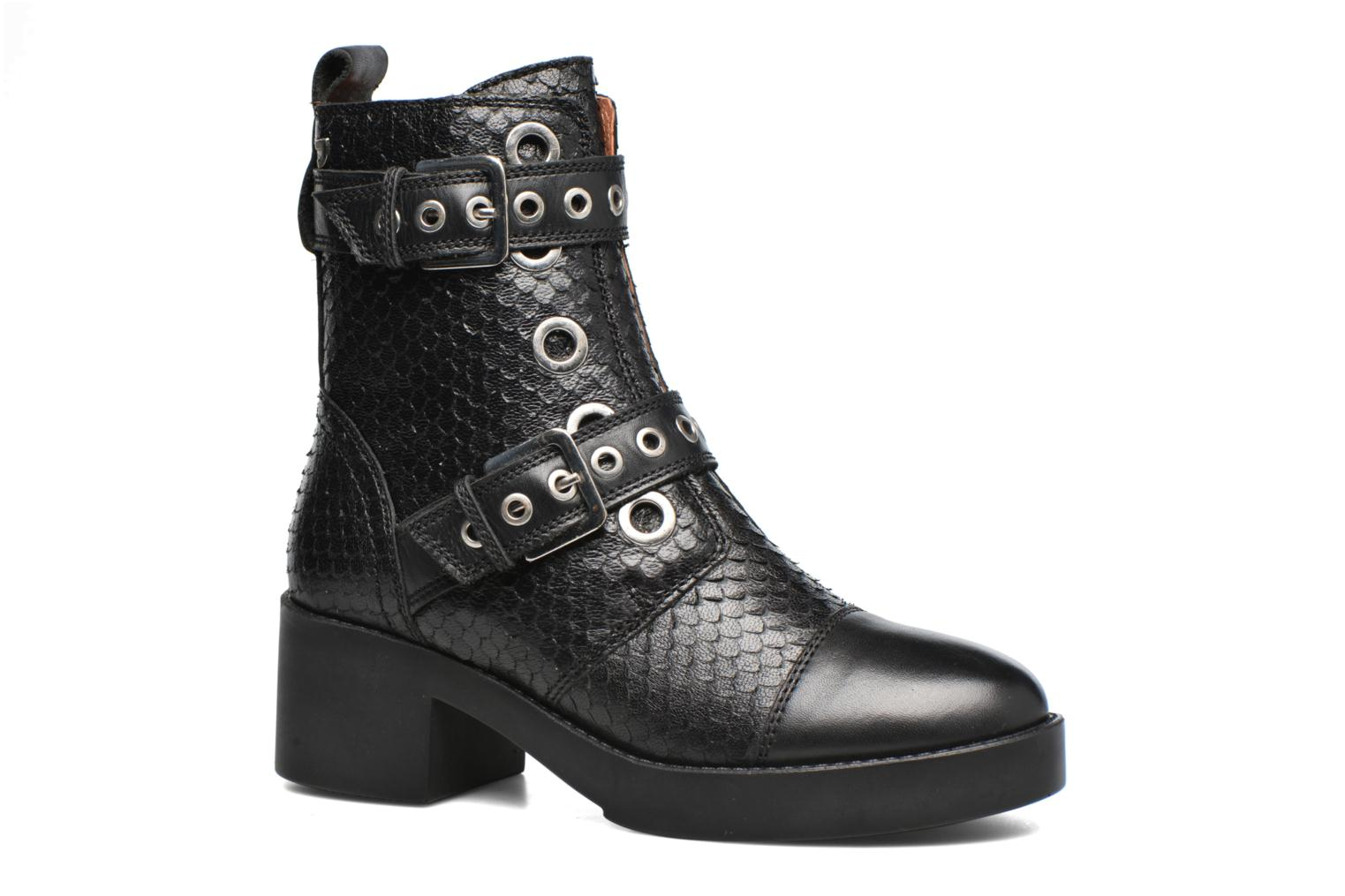 Ankle boots Gioseppo DOUBLON Black detailed view/ Pair view