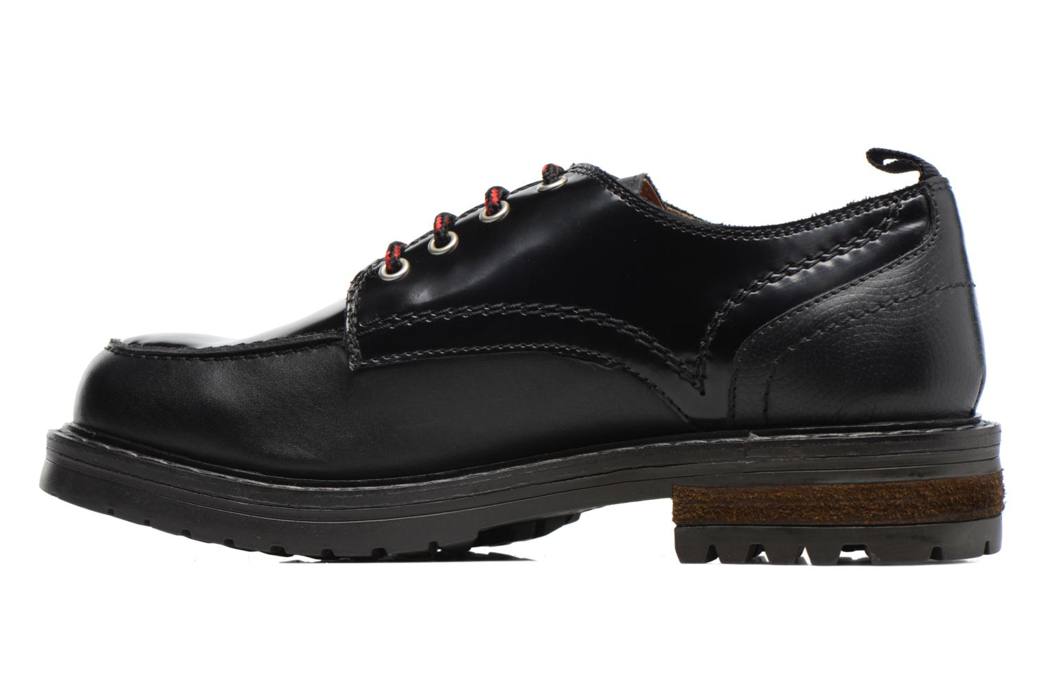 Lace-up shoes Gioseppo Tura Black front view