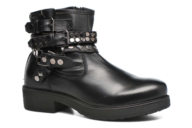 Bottines et boots Gioseppo Cible Noir vue détail/paire