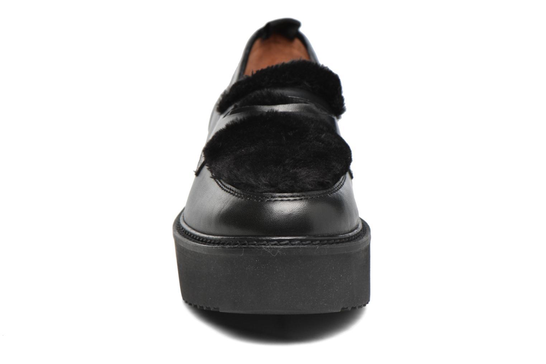 Mocassins Gioseppo Etane Noir vue portées chaussures
