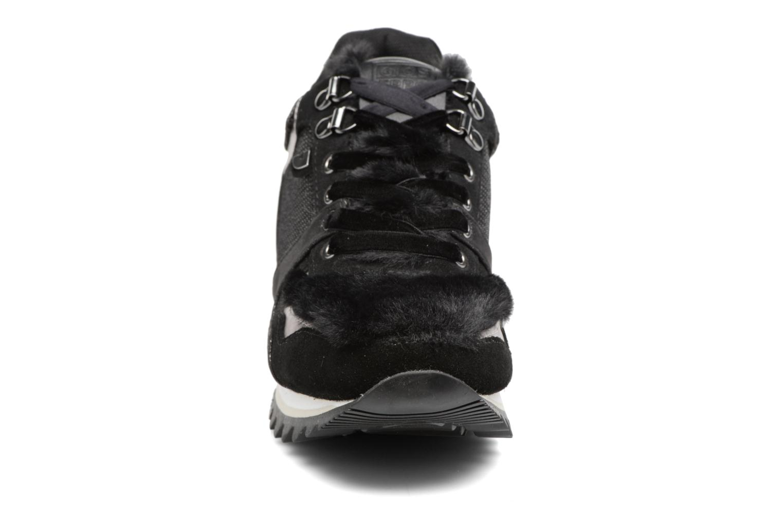 Baskets Gioseppo Popla Noir vue portées chaussures