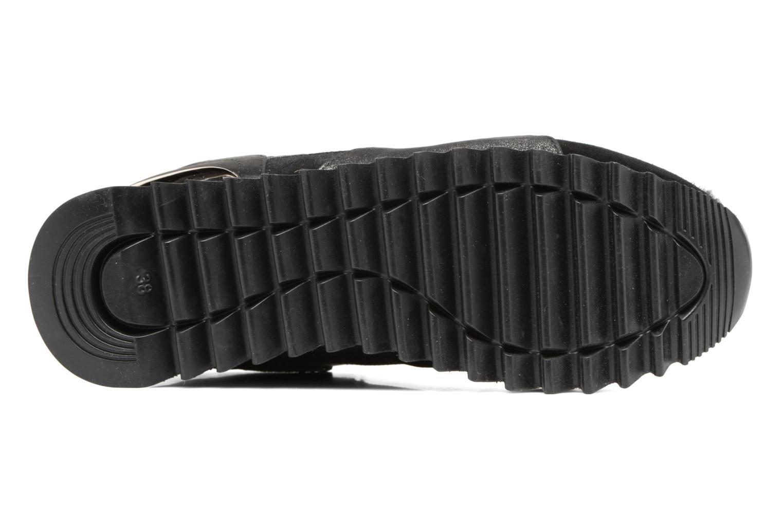 Baskets Gioseppo Popla Noir vue haut