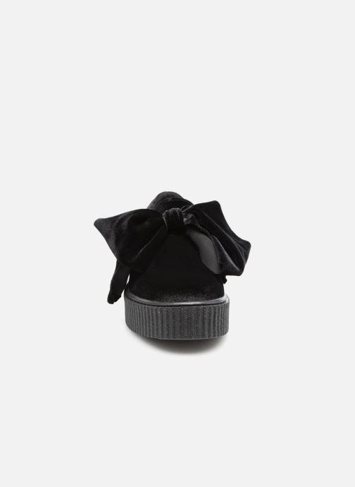Mocassins Gioseppo Asnole Noir vue portées chaussures