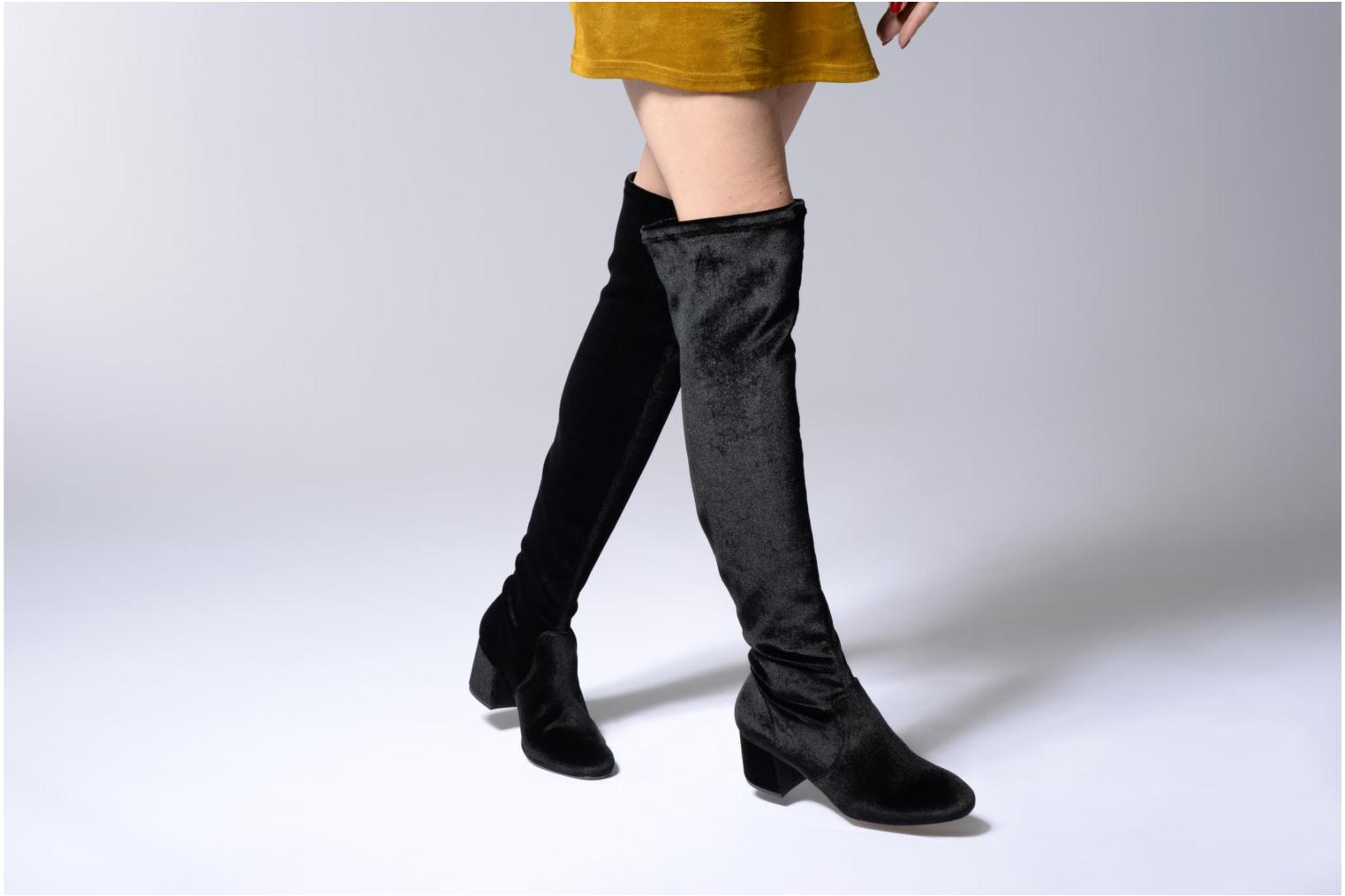 Boots & wellies Gioseppo Galule Black view from underneath / model view