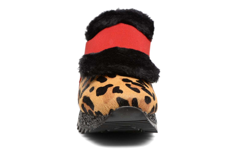 Baskets Gioseppo Crazyfourrure Multicolore vue portées chaussures