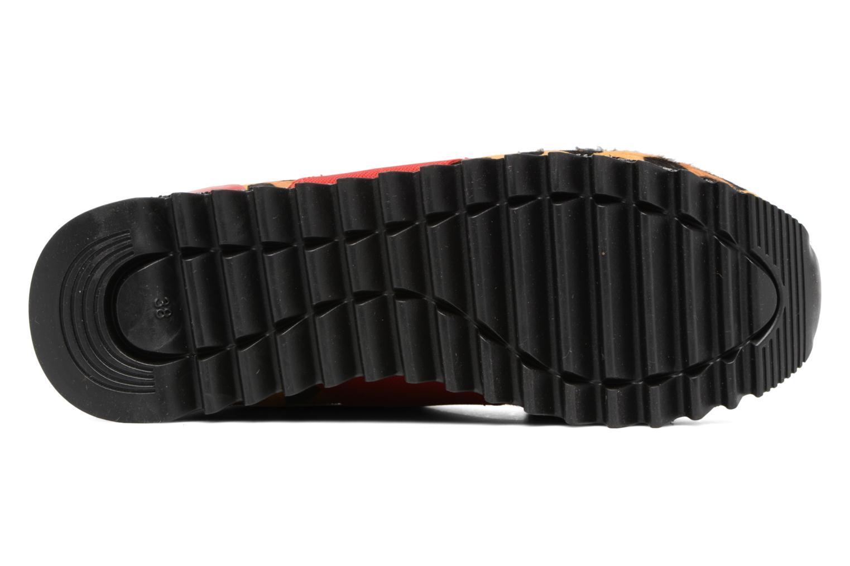Baskets Gioseppo Crazyfourrure Multicolore vue haut