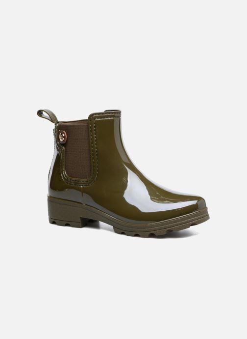 Ankelstøvler Gioseppo Emie Grøn detaljeret billede af skoene