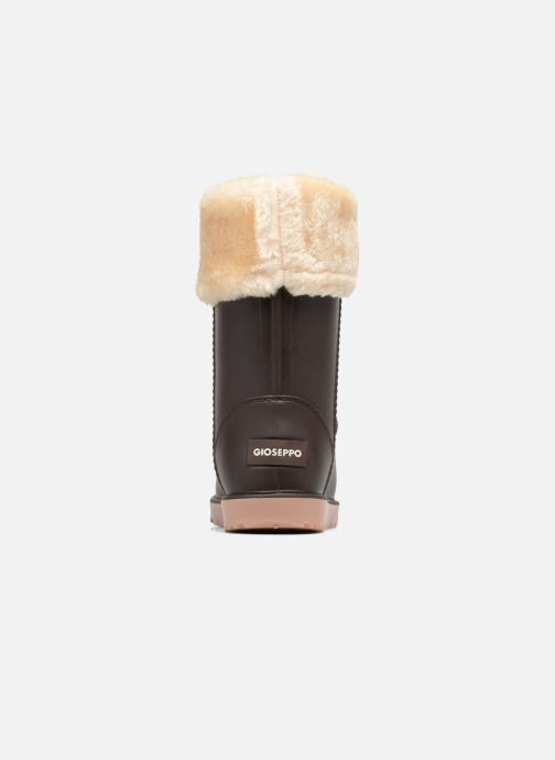 Ankle boots Gioseppo Hoodie Brown view from the right
