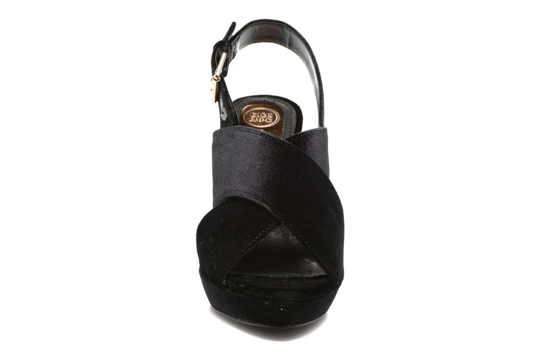 Sandals Gioseppo Sivie Black model view
