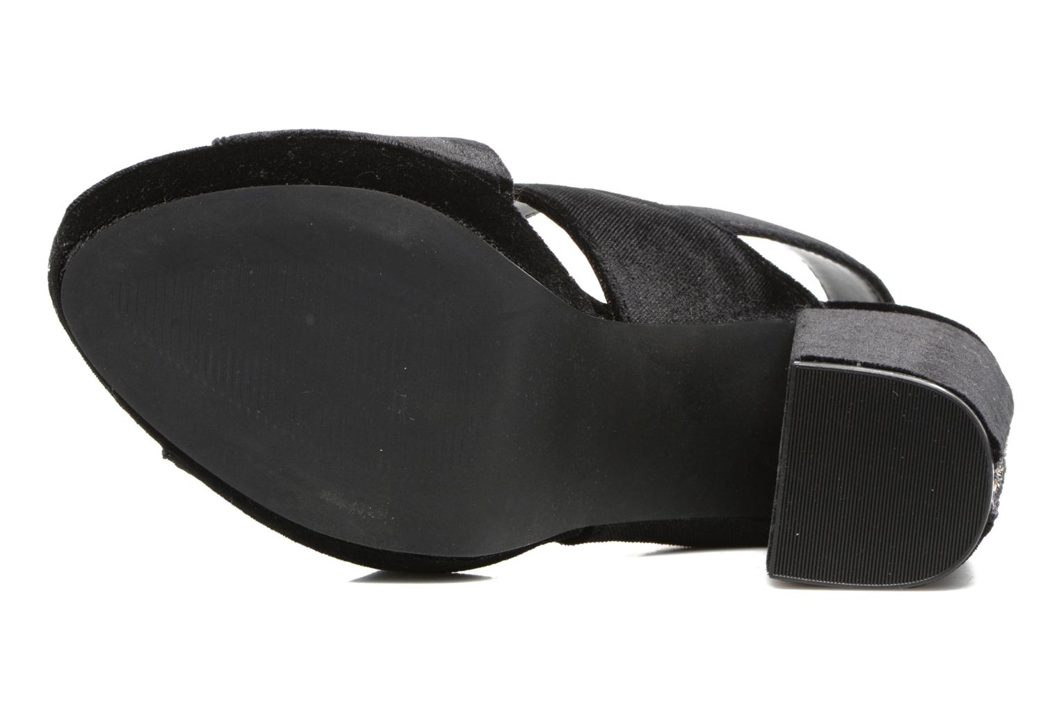 Sandals Gioseppo Sivie Black view from above