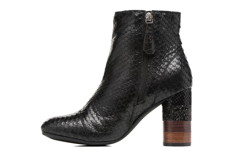 Boots en enkellaarsjes Gioseppo Jamie Zwart voorkant