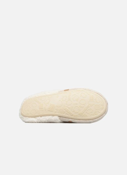 Chaussons Gioseppo Bled Beige vue haut