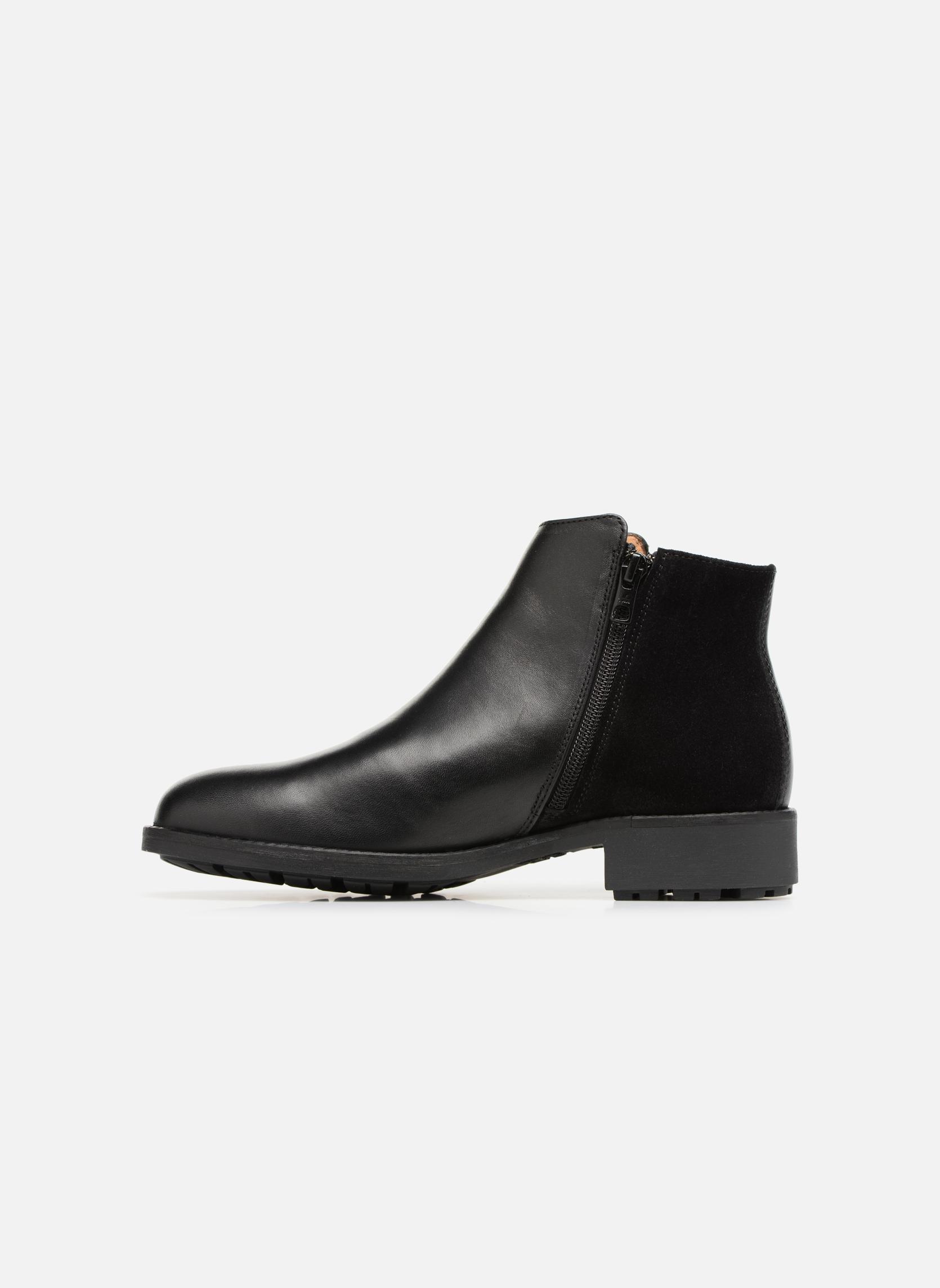 Bottines et boots Aigle Chante Low Noir vue face