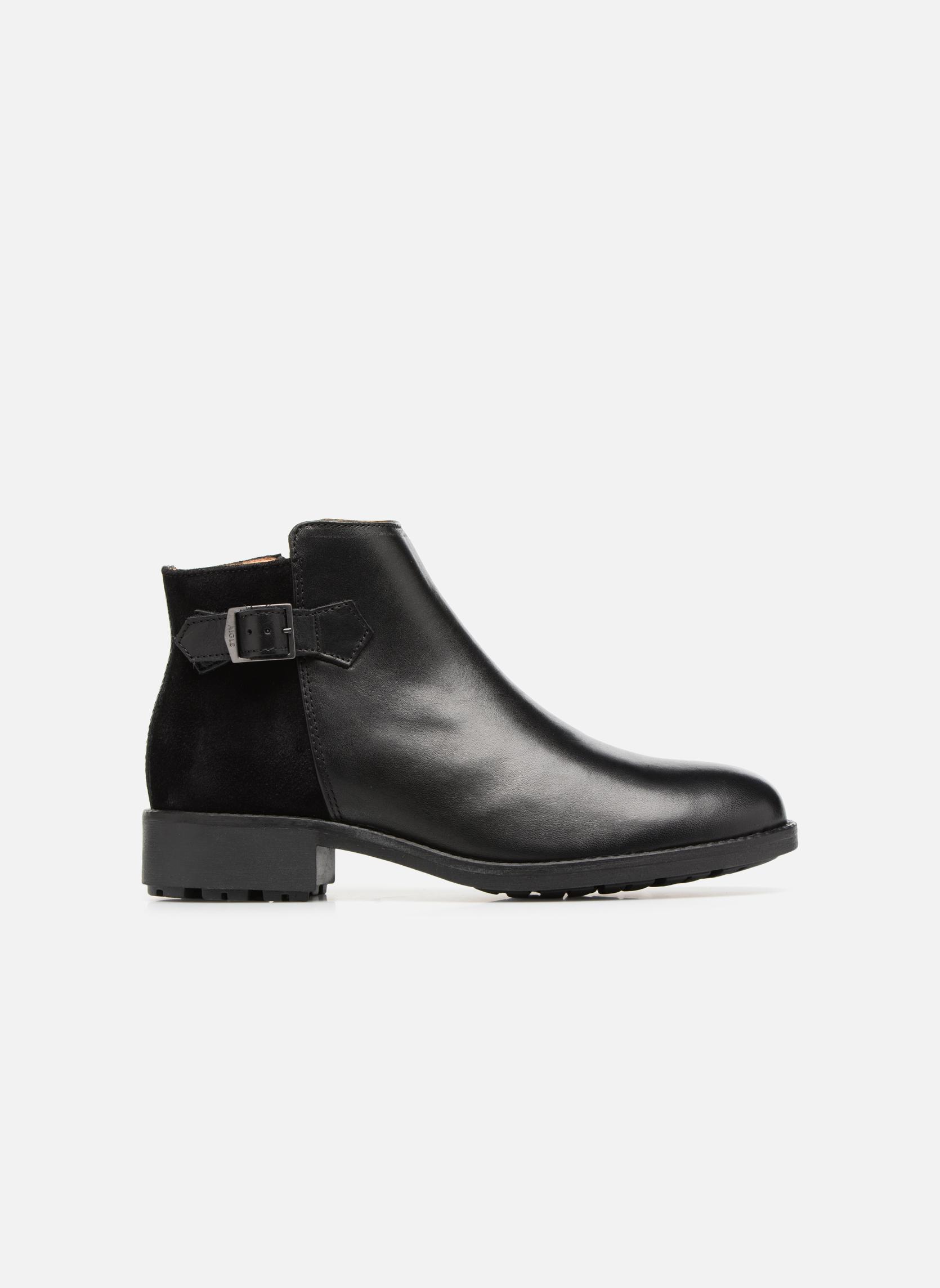 Bottines et boots Aigle Chante Low Noir vue derrière