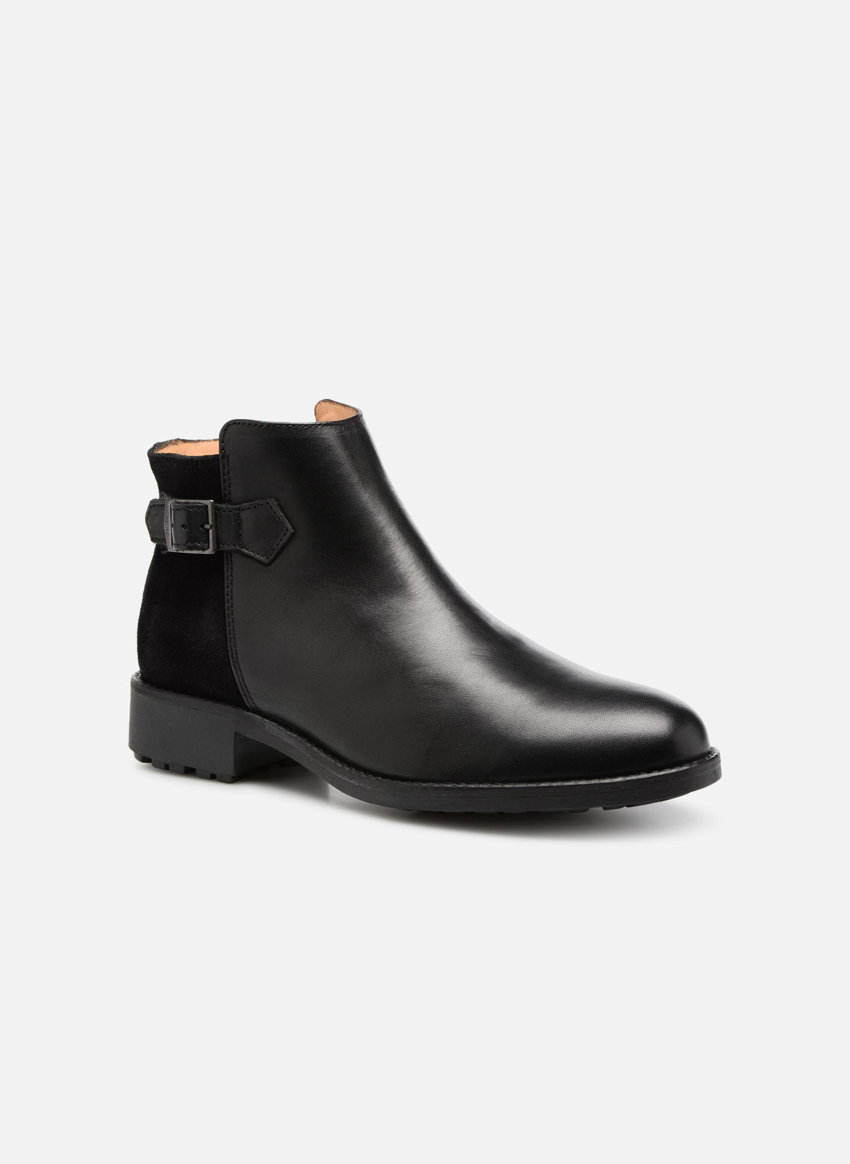 Bottines et boots Aigle Chante Low Noir vue détail/paire