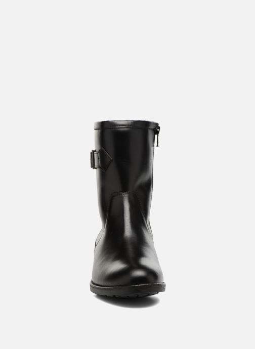 Ankle boots Aigle Chante Mid Fur Black model view