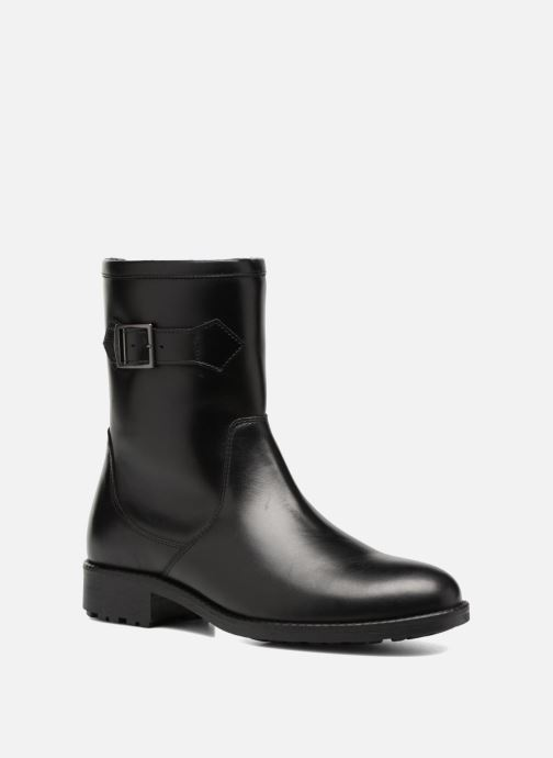Boots & wellies Aigle Chante Mid Fur Black detailed view/ Pair view