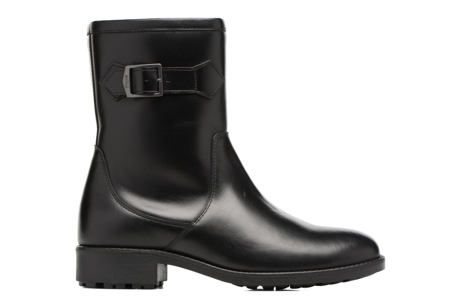 Boots & wellies Aigle Chante Mid Fur Black back view