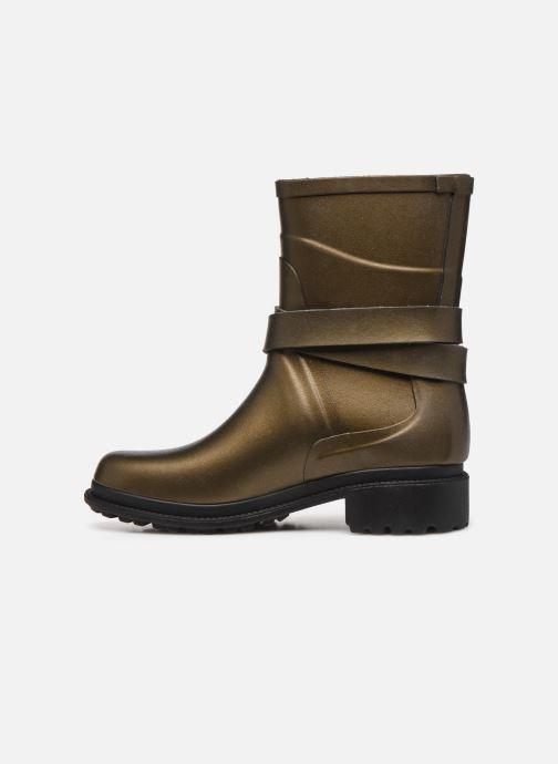 Bottines et boots Aigle Macadames MD Or et bronze vue face