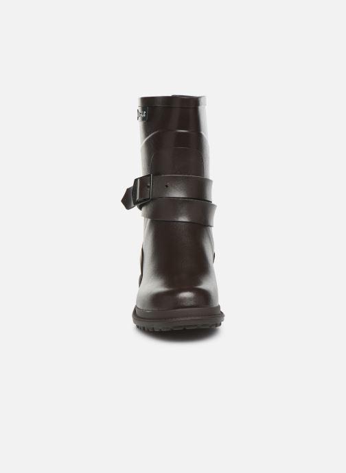 Bottines et boots Aigle Macadames MD Marron vue portées chaussures