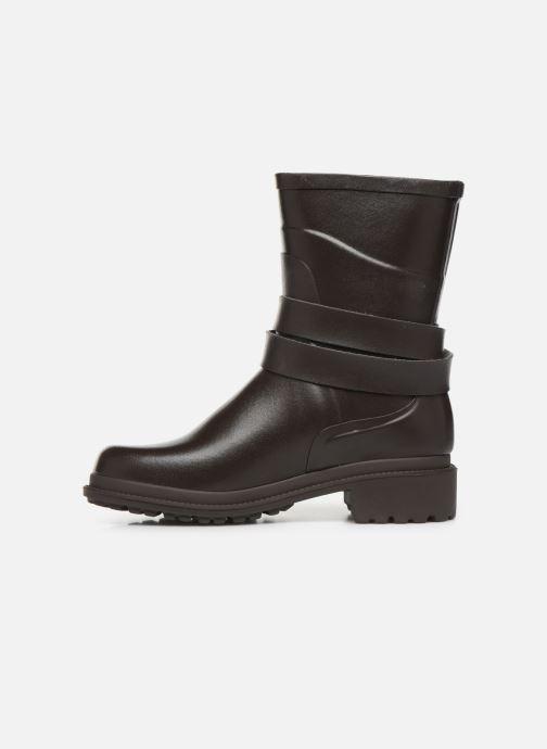 Bottines et boots Aigle Macadames MD Marron vue face