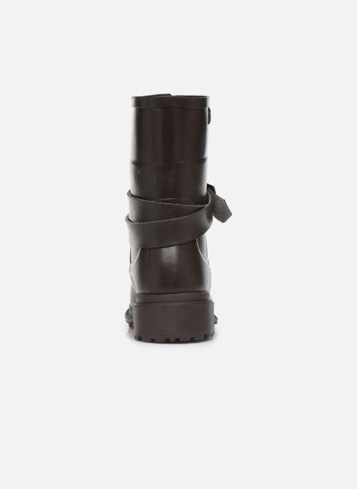 Bottines et boots Aigle Macadames MD Marron vue droite