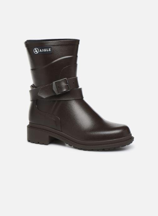 Bottines et boots Aigle Macadames MD Marron vue détail/paire
