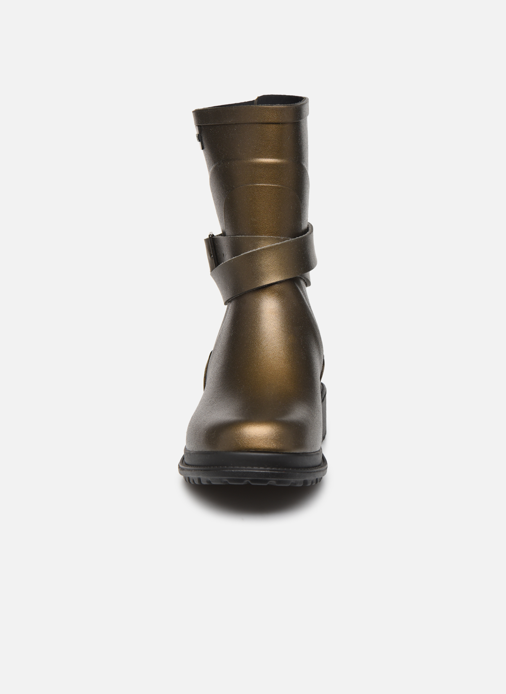 Boots & wellies Aigle Macadames MD Bronze and Gold model view