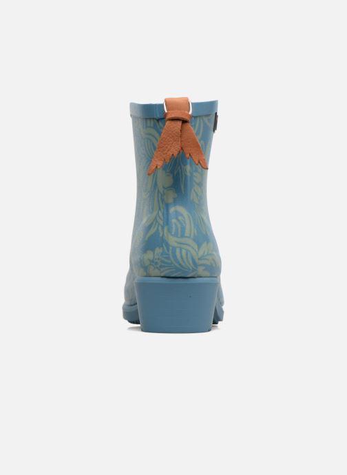 Bottines et boots Aigle Miss Juliette Botillon Bleu vue droite