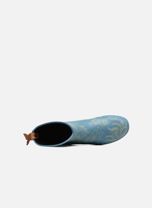 Stivaletti e tronchetti Aigle Miss Juliette Botillon Azzurro immagine sinistra