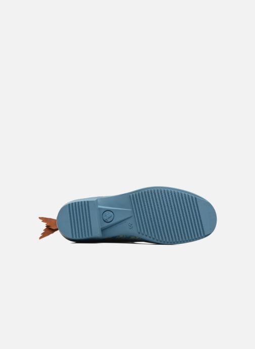 Bottines et boots Aigle Miss Juliette Botillon Bleu vue haut