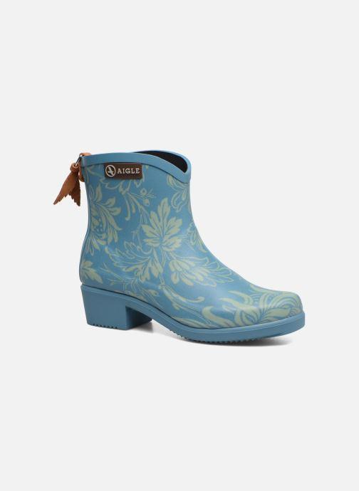 Bottines et boots Aigle Miss Juliette Botillon Bleu vue détail/paire