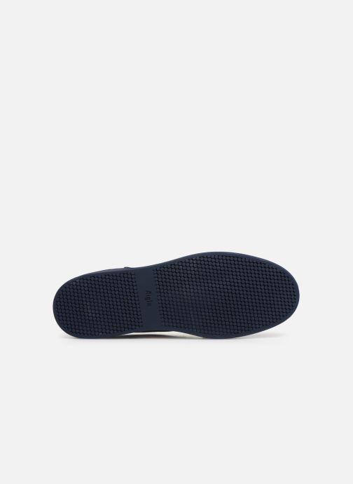 Chaussures à lacets Aigle Lonriver Mid Bleu vue haut