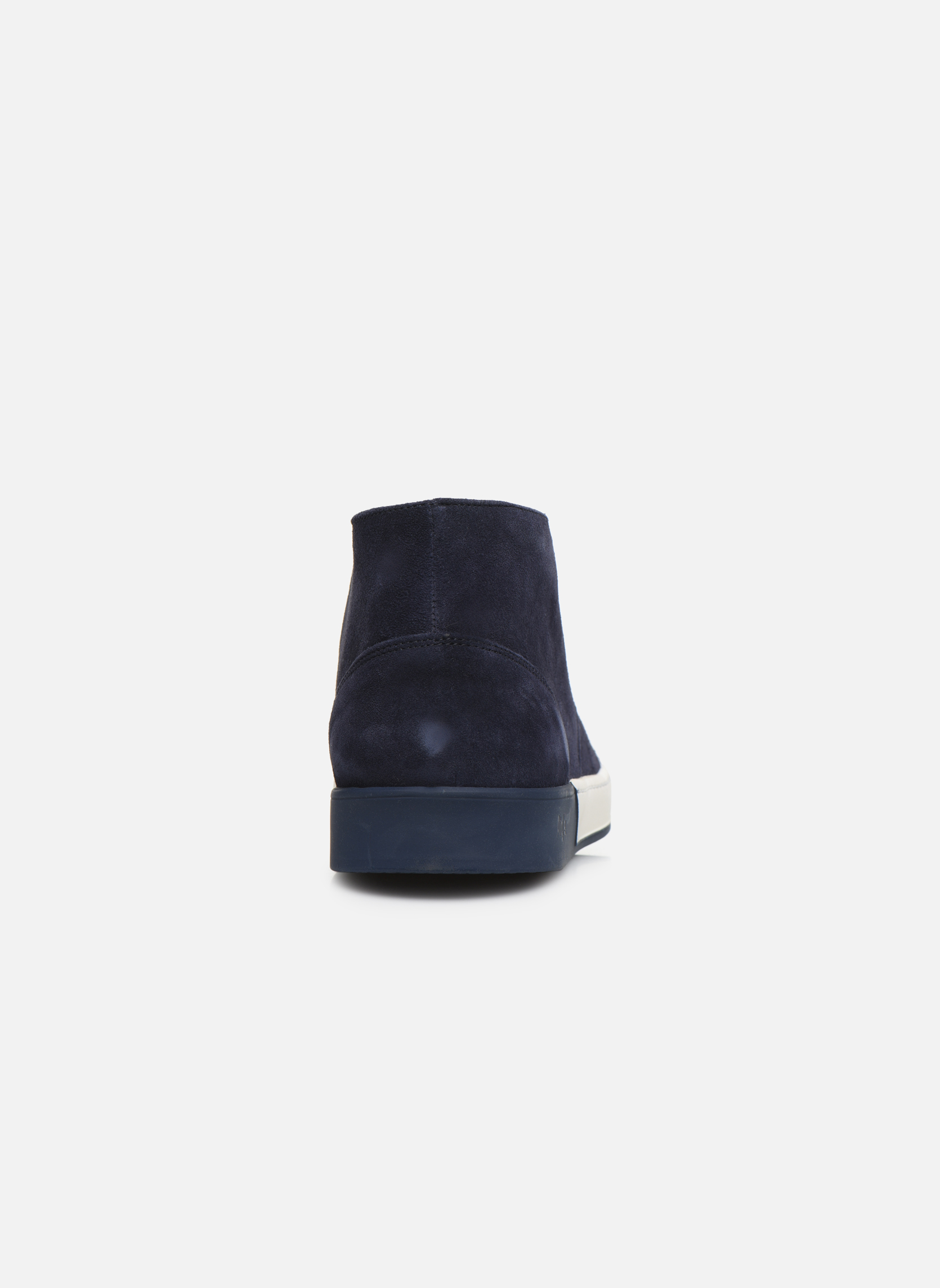 Lace-up shoes Aigle Lonriver Mid Blue view from the right